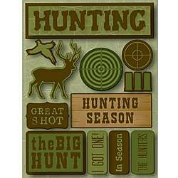Signature Dimensional Hunting Stickers