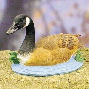 New Beautiful Canadian Goose Bird Figurine