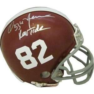 Ozzie Newsome Autographed/Hand Signed Alabama Crimson Tide Replica