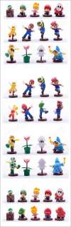 Mario Bros Yoshi Luigi Bowser Figures Baby Lot 13