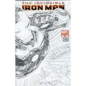 The Invincible Iron Man #500, Sketch Variant. (The Invincible Iron Man