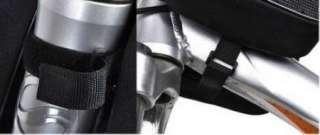 New Cycling Bike Black Bicycle Frame Pannier Front Tube Saddle Bag