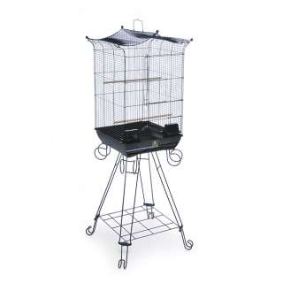 Prevue Pet Products Penthouse Suites Crown Top Bird Cage with Stand