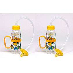 Pacifeeder Yellow Hands free Baby Bottles (Pack of 2)
