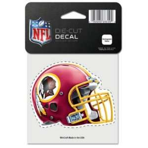 Redskins Official Logo Color Die Cut Decal