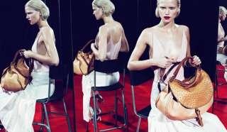 Genuine Leather Ladies Purse Hobo Bag IT Handbag Tote Satchel ACG029