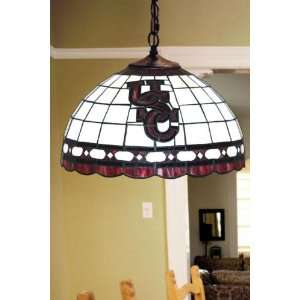 Team Logo Hanging Lamp 16hx16l South Carolina: Home Improvement
