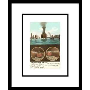 East River Tunnel, New York City, Framed Print by Unknown