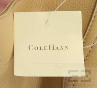 Cole Haan Tan Leather Large Hobo Bag NEW