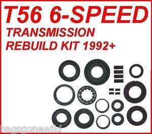 T56 6 SPEED MANUAL TRANSMISSION REBUILD KIT 92  08