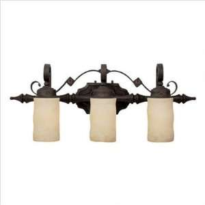 Capital Lighting   1903RI 125   River Crest Three Light Bath Vanity in