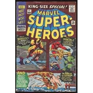 Marvel Super Heroes, v1 #1. Oct 1966 [Comic Book] Marvel