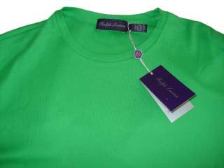 Purple Label Polo Ralph Lauren Green T Shirt L $295