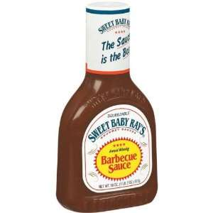 Sweet Baby Rays Barbecue Sauce   12 Pack 18oz  Grocery