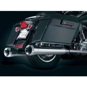 Kuryakyn 491 Crusher Mufflers Trident Tip for Harley