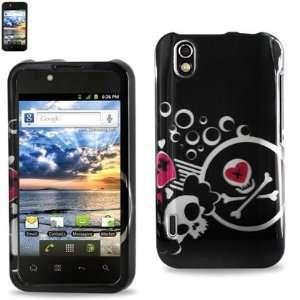LG Marquee Optimus Black Designer case 125 Black W/Silver