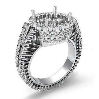 5ct Diamond Wedding Ring Round Setting Platinum s5.5 Engagement