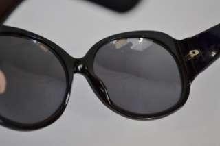 GUCCI Black Large Round Frame Chain Print Sunglasses GG 2952/S