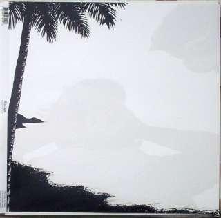 TROPICAL BEACH PALM TREE HAWAII SCRAPBOOK PAPER OVERLAY