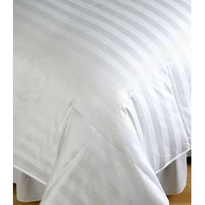 Ridge Siberian 500 Thread Count Woven Damask White Down Comforter King