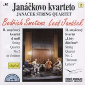 String Quartest Janacek Smetatna, Janacek String Quartet Music
