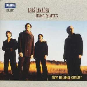 String Quartets 1 & 2 Janacek, New Helsinki Quartet Music