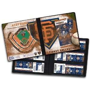 San Francisco Giants Ticket Album   2010 World Series