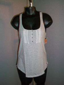HOLLISTER women cami tank top twisted racerback sexy