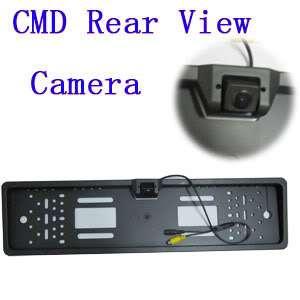 Waterproof Car Rearview Camera w EU License Plate
