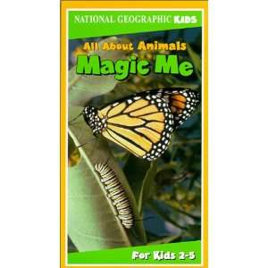 All Animals Magic Me [VHS] National Geo Kids Movies