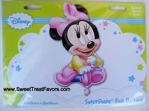 Disney MINNIE Baby Party BALLOON Shower GIRL Birthday