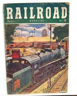 May 1951 RAILROAD MANS Pulp Magazine Railroad Stories