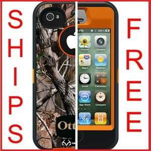 Realtree AP Blaze Orange Camo iPhone 4 & 4S 660543010555