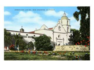Mission San Luis Rey, Oceanside, California Print at AllPosters