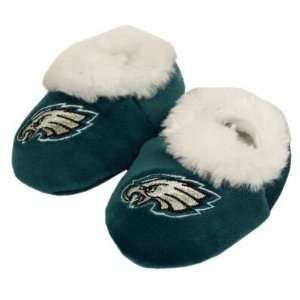 PHILADELPHIA EAGLES OFFICIAL LOGO BABY BOOTIE SLIPPERS 12