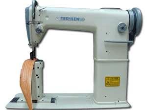 Techsew 810 Industrial Post Roller Foot Sewing Machine