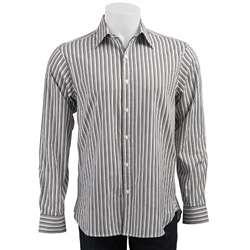 MICHAEL Michael Kors Mens Graphic Satin Stripe Dress Shirt