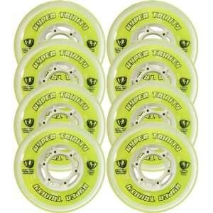 HYPER Inline Wheels TRINITY TRI POUR 72mm 76a x8 ROLLER HOCKEY