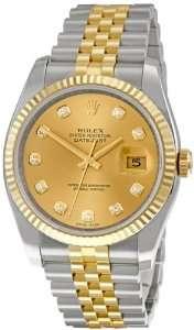 Dial Jubilee Bracelet Two Tone Mens Watch 116233CDJ Rolex Watches