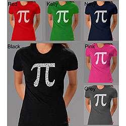 Los Angeles Pop Art Womens Pi T shirt