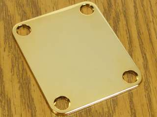 NEW Gold NECK PLATE for Fender Strat Tele Guitar
