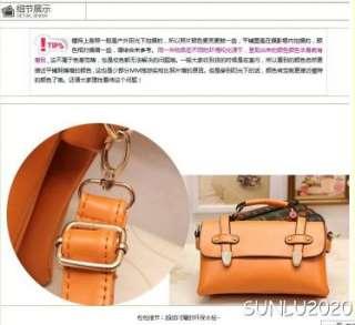 Brown Womens Size Faux Leather Satchel Shoulder Messenger Hobo Vintage