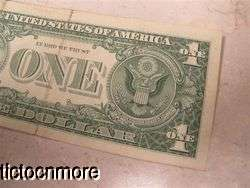 1957A 1957 A $1 ONE DOLLAR BILL SILVER CERTIFICATE STAR NOTE BLUE SEAL