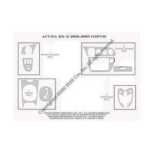 Acura RSX Dash Trim Kit 02 06   10 pieces   Green Carbon