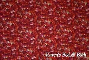 Cherry Cherries Fruit Kitchen Curtain Valance NEW
