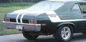 1970 CHEVY NOVA YENKO DEUCE COMPLETE STRIPE DECAL KIT*