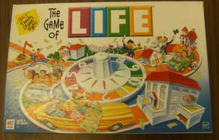 The Game of Life 2000 Milton Bradley Games Complete # 1