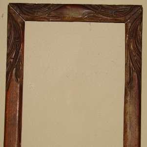 Antique Wooden Frame Hand carved frame Original