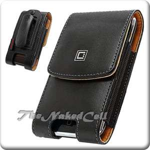 for LG OPTIMUS BLACK P970 LGB VERTICAL BLACK LEATHER COVER CASE POUCH