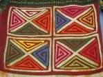 Blouse Kuna Tribe of San Blas Art Textile Quilt Panama 48886